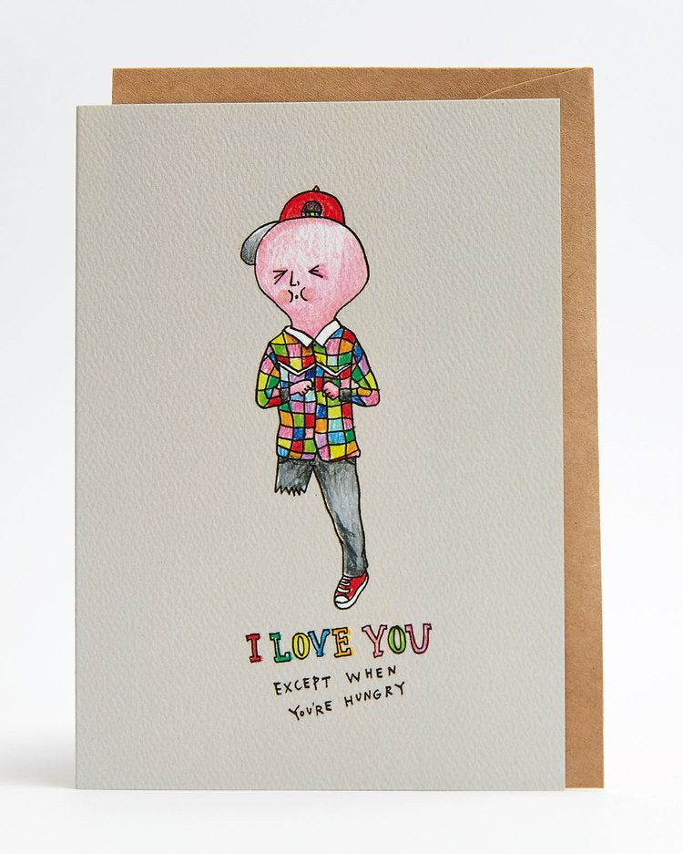 Wally Paper Co Hungry love -Cards