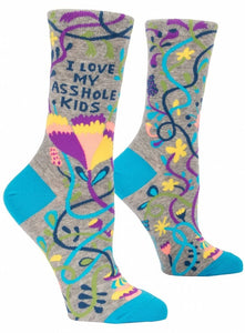 Love My Asshole Kids Socks - Pookipoiga