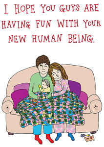 Able and Game I hope you guys are having fun with your new human being -Cards
