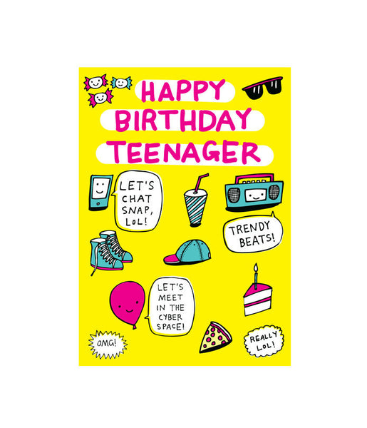 Able and Game Happy birthday teenager -Cards Melbourne