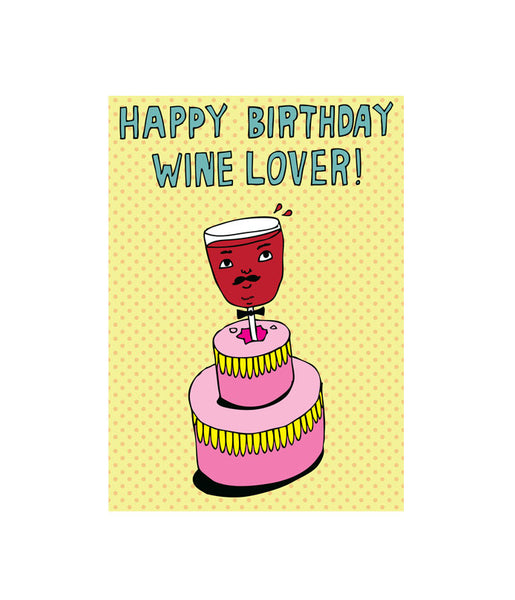 Able and Game Happy birthday, wine lover -Cards Melbourne