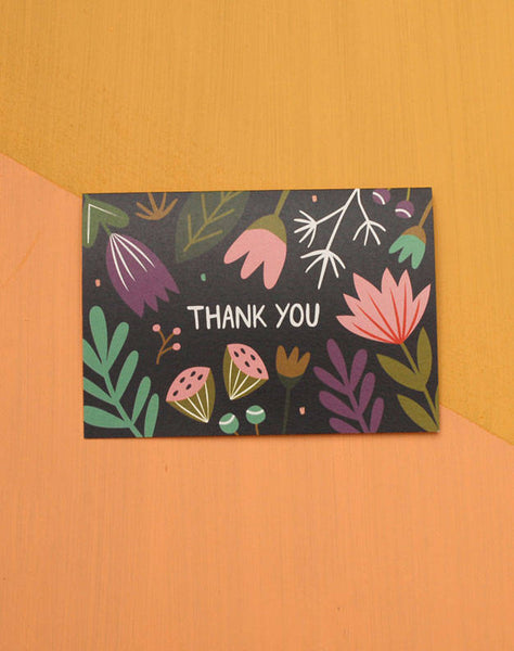 Fabric Drawer Thank You -Cards Melbourne