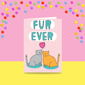 Able and Game Catrimony fur ever -Cards
