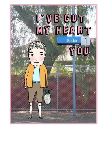 Able and Game I've Got my Heart Seddon You -Cards Melbourne