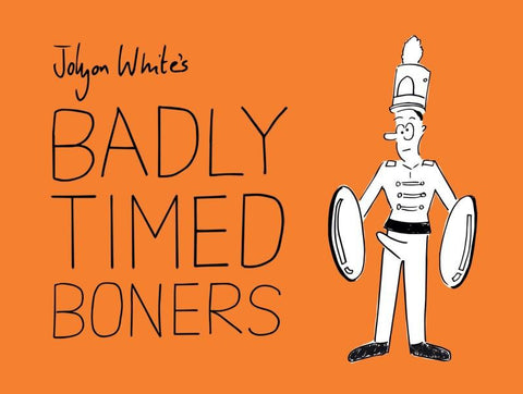 Badly Timed Boners Book - last minute gift idea