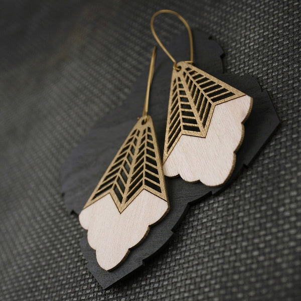 Pimelia-Mira-earrings-eco-friendly-gold-enamel-sustainable-jewellery