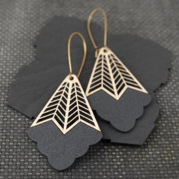 Mira-earrings-Pimelia-eco-friendly-Jewellery-sustainable-graphite