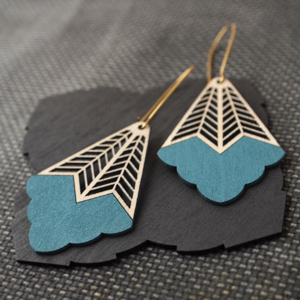 Pimelia-Mira-earrings-turquoise-eco-friendly-Jewellery-sustainable