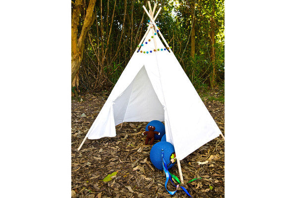 Rainbows and Clover Teepee - display piece -Homewares