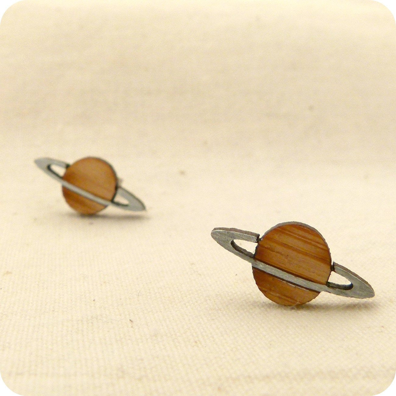 One Happy Leaf - Planet Earrings - last minute gift idea - melbourne