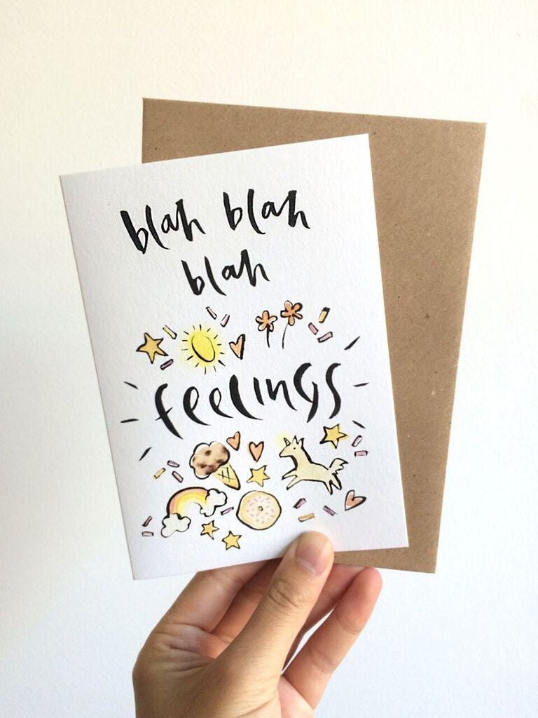 Little sister co Blah blah feelings -Cards