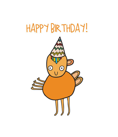 Able-and-game-happy-birthday-orange-alien-card-funny
