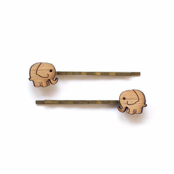 Elephant-hairpins-hair-accessory-recycled-bamboo-one-happy-leaf