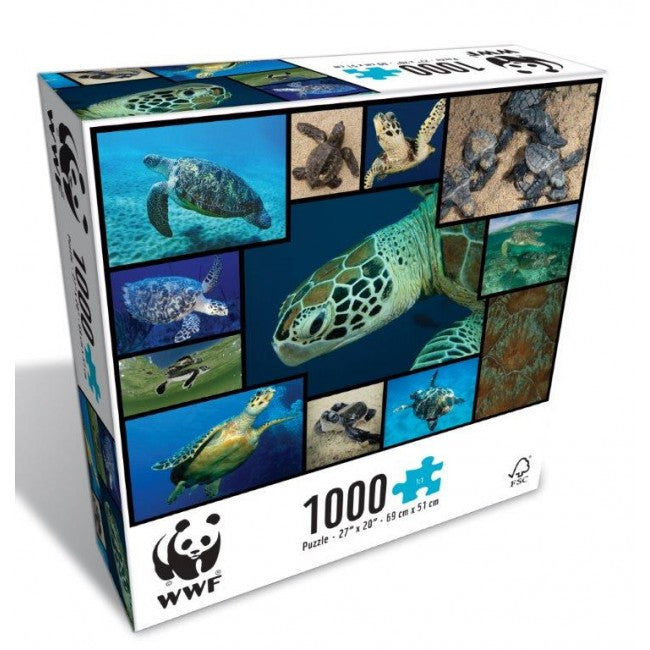 WWF - Sea Turtle Puzzle - last minute gift idea - melbourne