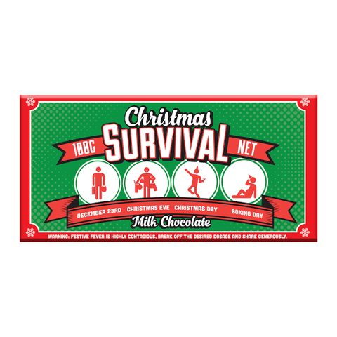 BellaBerry Christmas Survival Milk Chocolate -Chocolate Melbourne