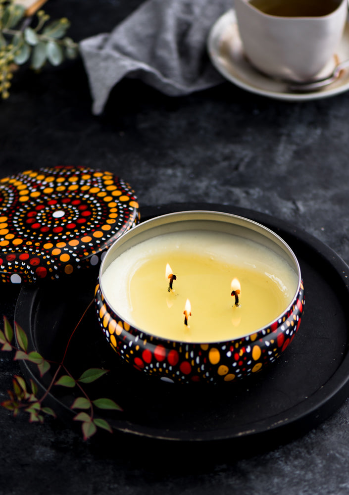 Keiora Golden Wattle Candle - Pookipoiga