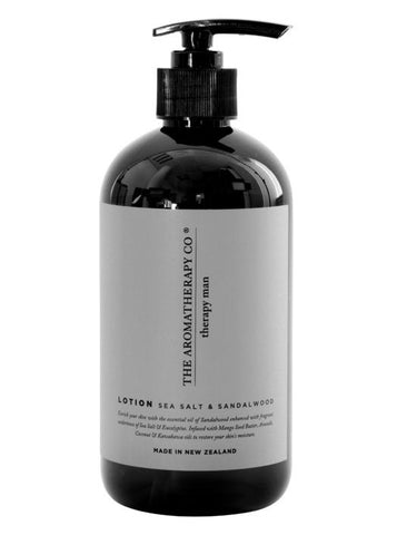 The Aromatherapy Co Hand and Body Lotion - Sea Salt and Sandalwood -Face and Body Melbourne
