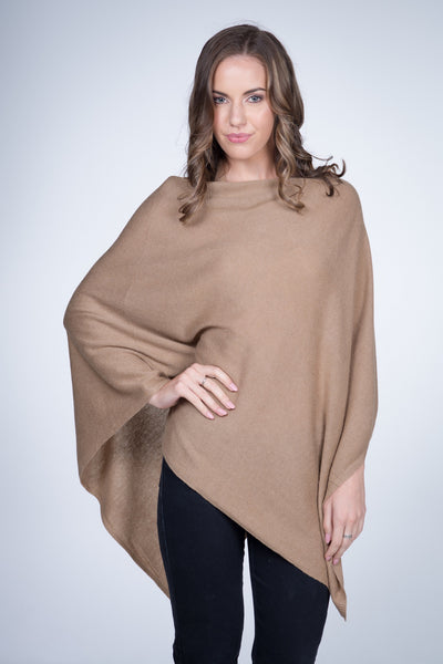 Cashmere-poncho-nine-Yaks-ethical-sustainable-clothing-fashion-brown-camel-sand