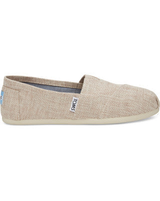 TOMS Pale Pink Lurex Woven Alpargatas -Shoes Melbourne