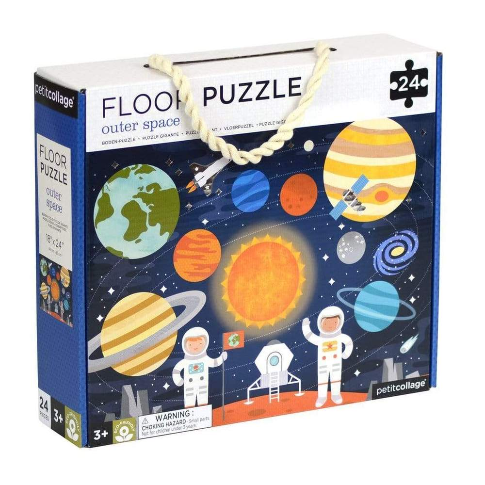 Petit Collage Petit Collage Outer Space Floor Puzzle -Puzzle
