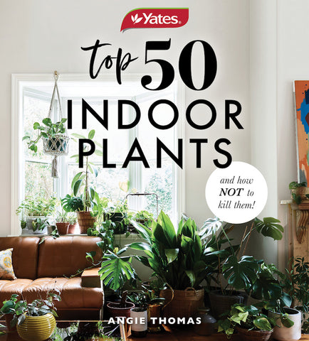 Hardie Grant Books 50 Indoor Plants & How Not to Kill Them Book -Books Melbourne