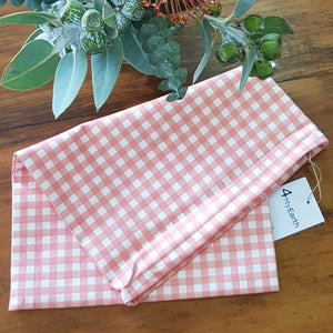 4 My Earth Bread Bag -Bread Bag Red Gingham Melbourne