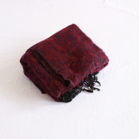 Yak Shawl red