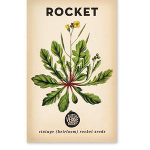 ROCKET 'SALAD' HEIRLOOM SEEDS - Pookipoiga