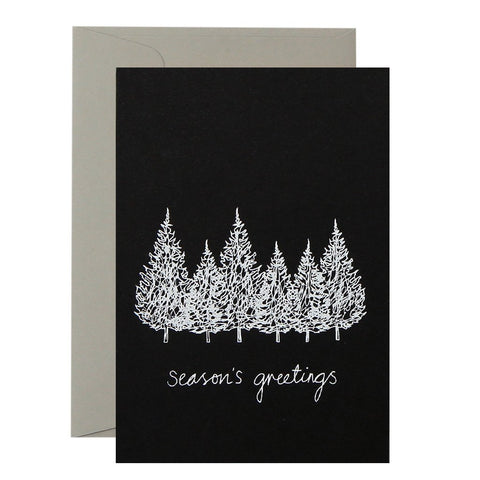 Season's Greeting Christmas Card
