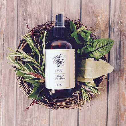 Lil Bit - Shoo! Organic Insect Spray 250ml - last minute gift idea - melbourne