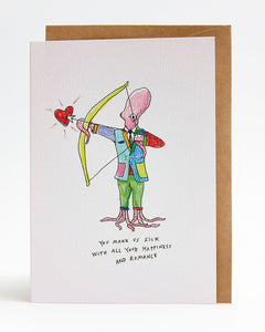 Wally Paper Co Sick Romance -Cards