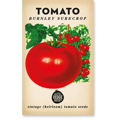 TOMATO 'BURNLEY SURECROP' HEIRLOOM SEEDS - Pookipoiga