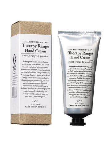 The Aromatherapy Co Therapy Hand Cream - Orange and Jasmine -Hand cream Melbourne