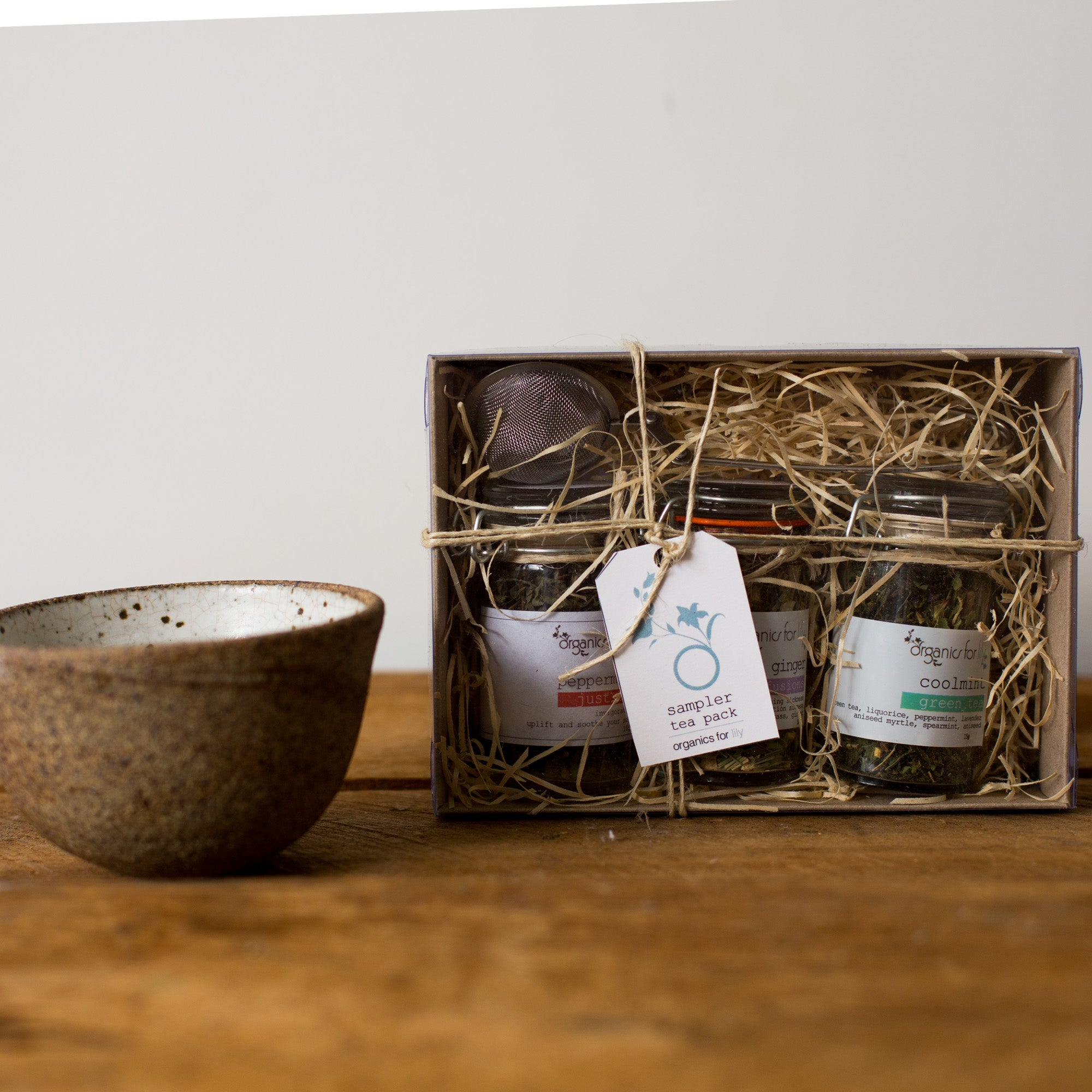 Organics for Lily - Tea Box Gift Set - last minute gift idea - melbourne