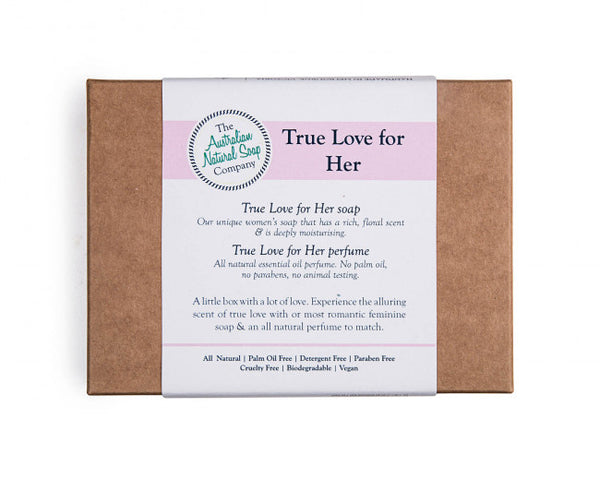 True Love for her soap gift pack ANSC