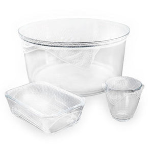Seed and Sprout Co Reusable Clear Food Wraps - Set of 3 -Food wrap Melbourne