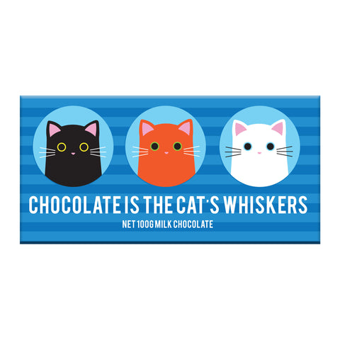 BellaBerry Cat's Whiskers Milk Chocolate -Chocolate Melbourne