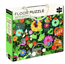 Petit Collage - Petit Collage Secret Garden Floor Puzzle - last minute gift idea - melbourne