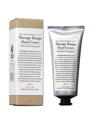 The Aromatherapy Co Therapy Hand Cream - Wild Mint and Bergamot -Hand cream Melbourne