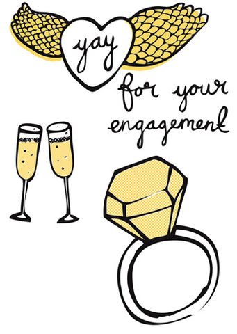 yay for your engagement