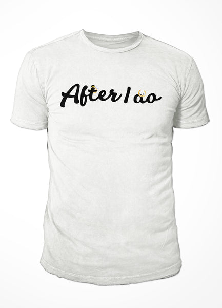 After I do - Unisex White T-shirt