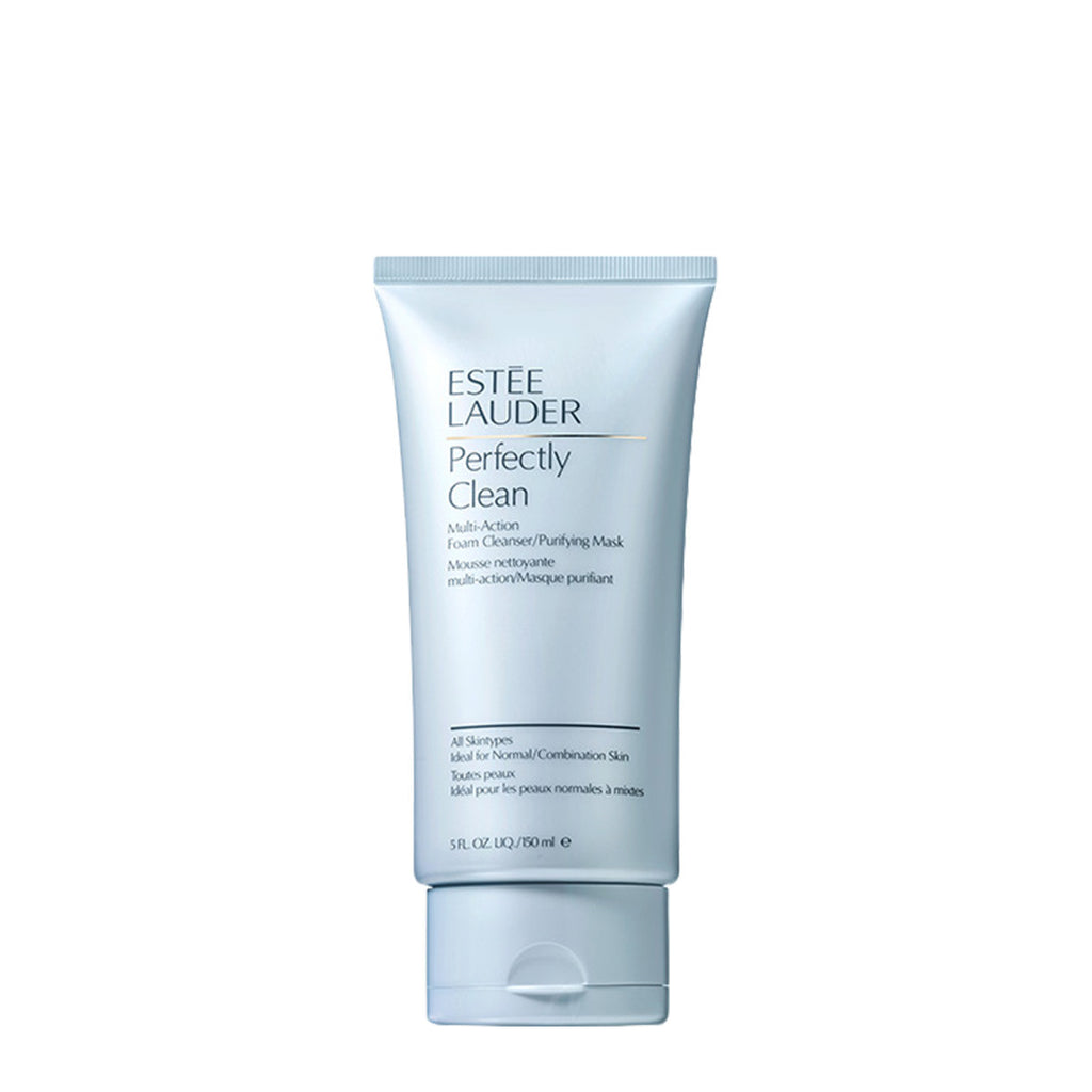 ....ESTEE LAUDER Perfectly Clean Multi-Action Foam Cleanser/Purifying Mask 150ml..ESTEE LAUDER 雅詩蘭黛 全效深層淨肌潔面泡沫/面膜 150ML....
