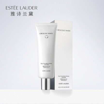 ....Estee Lauder Crescent White Full Cycle Brightening Cleanser 125ML..Estee Lauder 雅詩蘭黛 循環自生亮白潔面乳 125ML....
