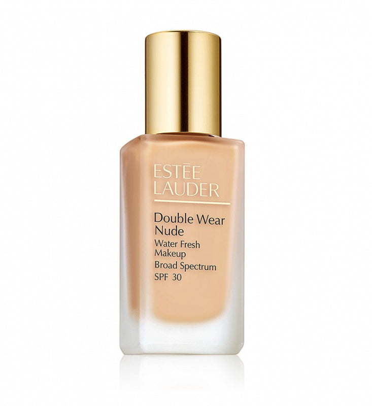....ESTEE LAUDER Double Wear Nude Nude Water Fresh Makeup SPF 30 30ML (# 1W1 BONE)..ESTEE LAUDER 雅詩蘭黛 持久裸妝水盈防護粉底液SPF 30 30 ML 色號:1W1 BONE....