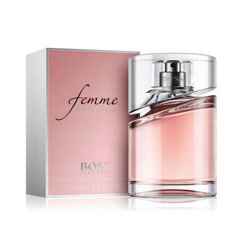 ....HUGO BOSS Femme by BOSS eau de parfum 75ml..HUGO BOSS 優客博士 光采女人 女性濃香水 75ml....
