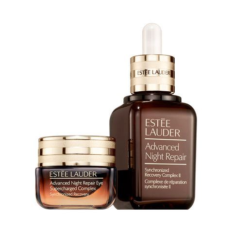....ESTEE LAUDER Advanced Night Repair Face And Eye Super Charged Complex 1 PCS 50ML+15ML..ESTEE LAUDER 雅詩蘭黛 升級再生基因修護露50ML+眼霜 15ML....
