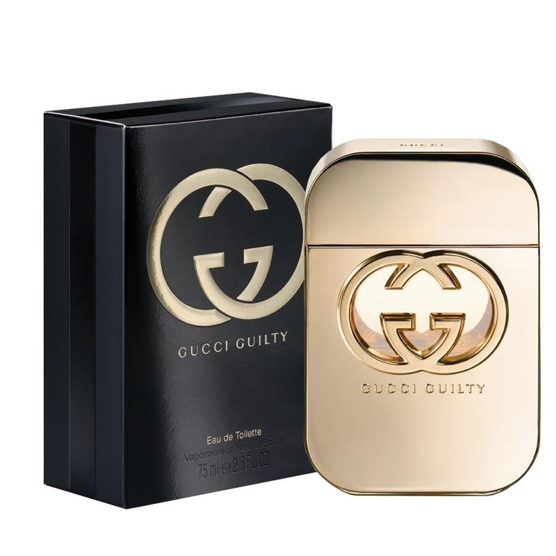 GUCCI GUILTY EDT SPRAY 75 ML 古馳罪愛女士香水 EDT 75ML