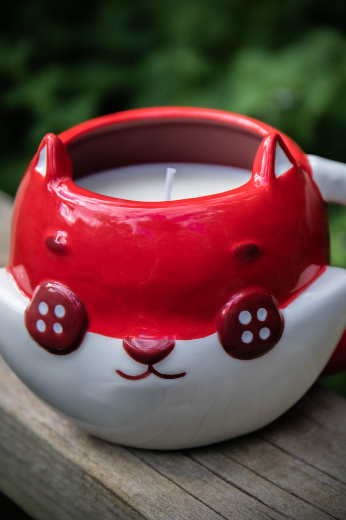 Scented Candle - Button Fox ボタン狐
