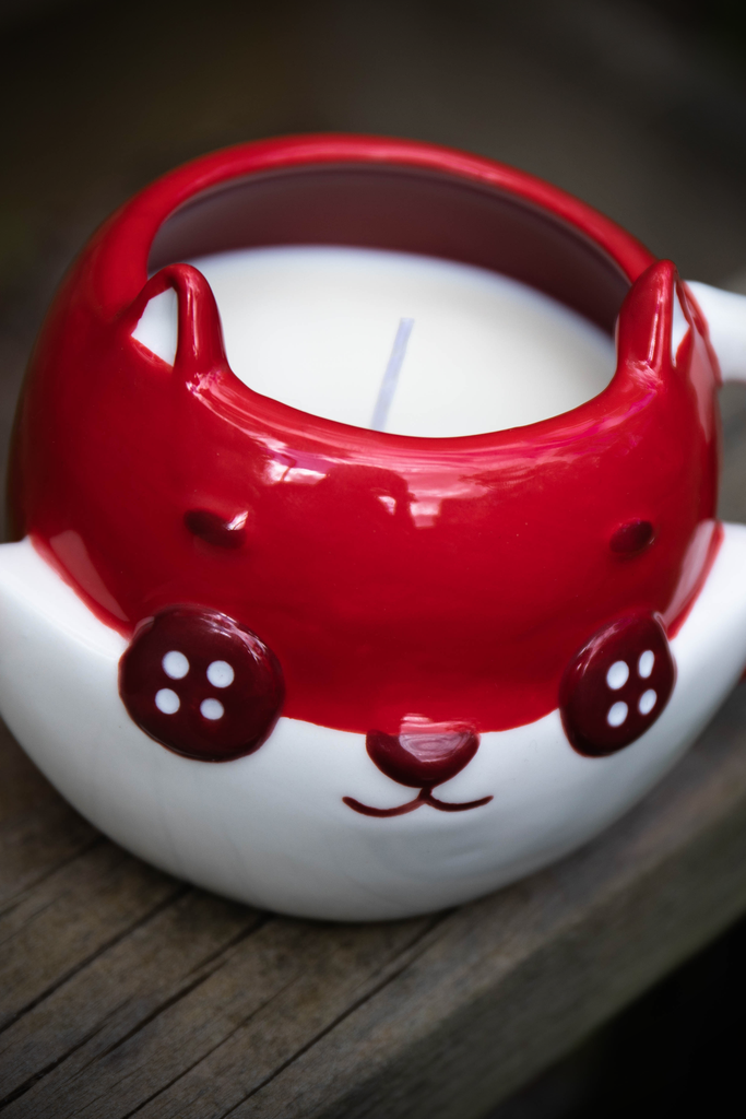 Scented Candle - Button Fox
