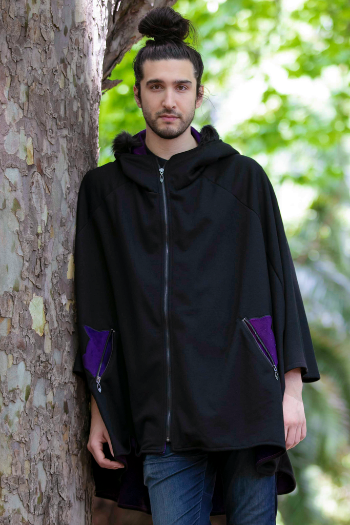 Glider Cape (BLCK&GLXY) - Button Fox
